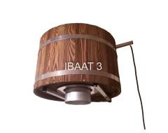 Ведро-водопад IBAAT 3 для бани и сауны 60л