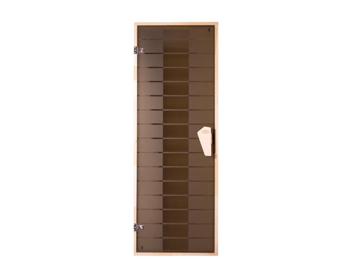 Дверь для бани и сауны Tesli Plaza 1900 x 700 правая в Одессе