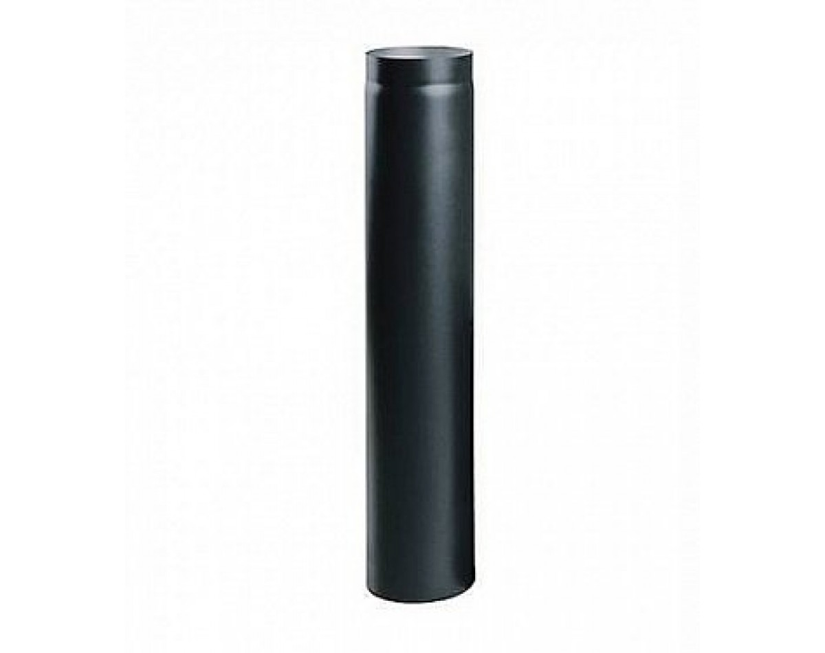 Труба дымоходная 1 метр  (черная сталь 09Г2Ф 2 мм)
