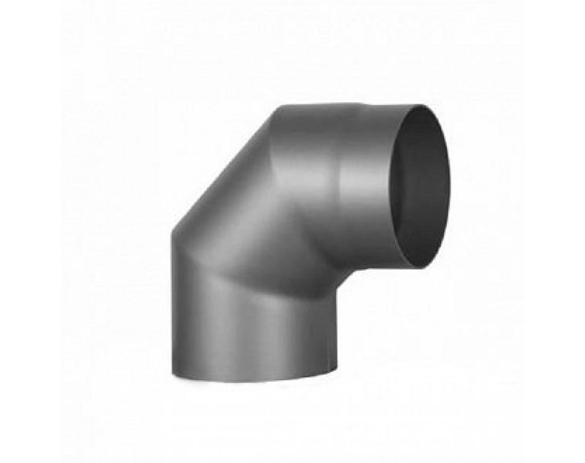 Колено 90 для дымохода  (черная сталь 09Г2Ф 2 мм)