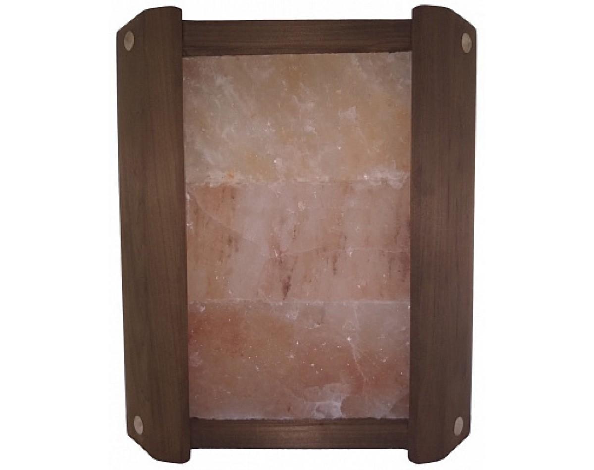 Ограждение угловое  ТЕРМО с гималайской солью 3 плитки для бани и сауны