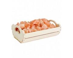 Ящик с гималайской солью 10 кг для бани и сауны